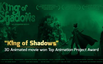 "FilmPoint's ""King of Shadows"", Malaysian origin movie won another Top Animation Project Award in Xian, China."